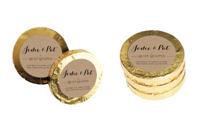 Location-Centric Wedding Chocolate Coins (Gold Or Silver)