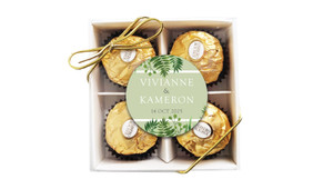 Forest Frame Personalised Ferrero Rocher Gift Box