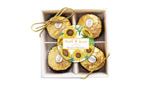 Sunflower Personalised Ferrero Rocher Gift Box