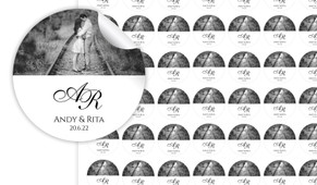 Add A Photo On White Personalised 25mm Labels