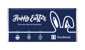 Corporate Easter Personalised Chocolate Bars