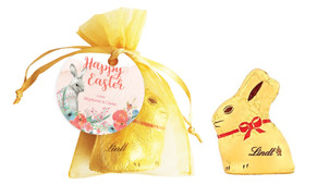 Floral Corners Personalised Easter Bunny Bag