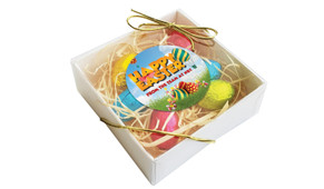 Big Fun Personalised Easter Egg Nest Box