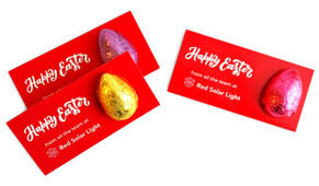 Personalised Easter Egg Card With Chocolate Egg