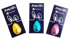 Corporate Personalised Easter Egg Card