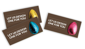 Let Us Design For You Easter Egg Card
