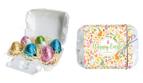 Cute And Colourful Personalised Easter Egg Carton
