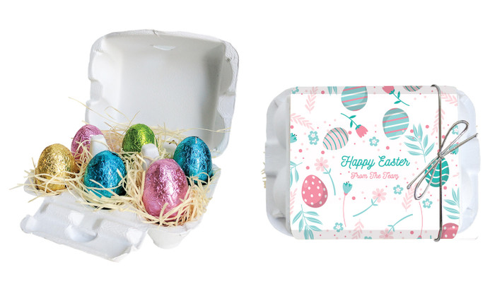 Easter Elements Personalised Easter Egg Carton