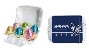 Corporate Personalised Easter Egg Carton