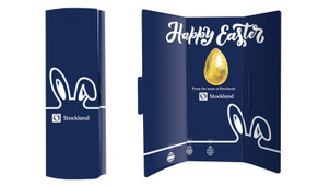 Corporate Easter Chocolate Greeting Card