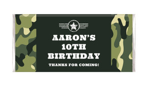 Army Personalised Chocolate Bars - Australia's #1 Kids Party Supplies