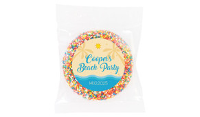 Beach Party Personalised Giant Freckles - Australia's #1 Kids Party Supplies