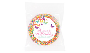 Butterflies Personalised Giant Freckles - Australia's #1 Kids Party Supplies