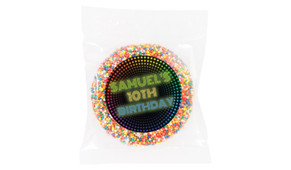 Disco Lights Personalised Giant Freckles - Australia's #1 Kids Party Supplies
