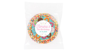 Donut Party Personalised Giant Freckles - Australia's #1 Kids Party Supplies