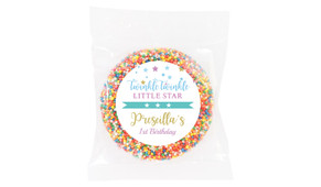 Twinkle Star 1st Birthday Personalised Giant Freckles - Australia's #1 Kids Party Supplies
