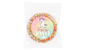 Unicorn Dabbing Personalised Giant Freckles - Australia's #1 Kids Party Supplies