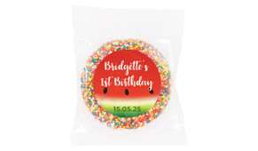 Watermelon Party Personalised Giant Freckles - Australia's #1 Kids Party Supplies