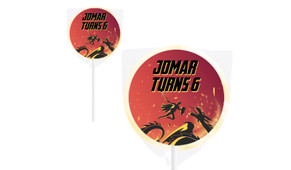 Dragon Personalised Lollipops - Australia's #1 Kids Party Supplies