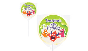 Monster Slime Personalised Lollipops - Australia's #1 Kids Party Supplies