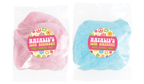 60's Hippie Personalised Fairy Floss - Australia's #1 Kids Party Supplies