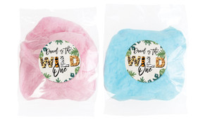 Wild One Personalised Fairy Floss - Australia's #1 Kids Party Supplies