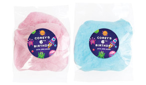 Outerspace Personalised Fairy Floss - Australia's #1 Kids Party Supplies