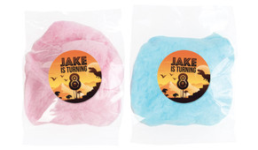 Prehistoric Dinosaur Personalised Fairy Floss - Australia's #1 Kids Party Supplies