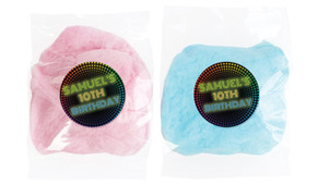 Disco Lights Personalised Fairy Floss - Australia's #1 Kids Party Supplies