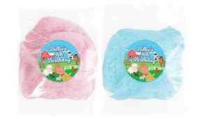 Down The Farm Personalised Fairy Floss - Australia's #1 Kids Party Supplies