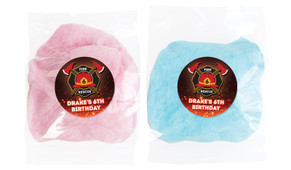 Firefighter Personalised Fairy Floss - Australia's #1 Kids Party Supplies