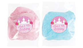 Princess Castle Personalised Fairy Floss - Australia's #1 Kids Party Supplies