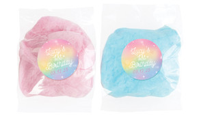 Rainbow Sparkle Personalised Fairy Floss - Australia's #1 Kids Party Supplies