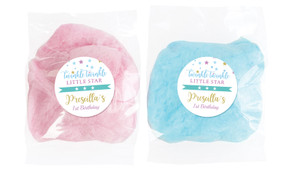 Twinkle Star 1st Birthday Personalised Fairy Floss - Australia's #1 Kids Party Supplies