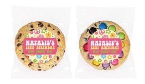 60's Hippie Personalised Birthday Cookie - Australia's #1 Kids Party Supplies