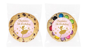 Golden Ballerina Personalised Birthday Cookie - Australia's #1 Kids Party Supplies