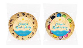 Beach Personalised Birthday Cookie - Australia's #1 Kids Party Supplies