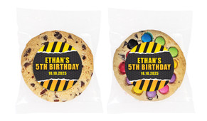 Construction Builders Personalised Birthday Cookie - Australia's #1 Kids Party Supplies