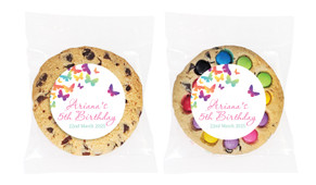 Butterflies Personalised Birthday Cookie - Australia's #1 Kids Party Supplies