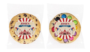 Retro Circus Personalised Birthday Cookie - Australia's #1 Kids Party Supplies