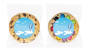 Hot Air Balloon Personalised Birthday Cookie - Australia's #1 Kids Party Supplies