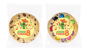Mexican Fiesta Personalised Birthday Cookie - Australia's #1 Kids Party Supplies