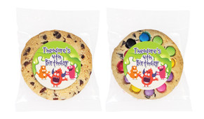 Monster Slime Personalised Birthday Cookie - Australia's #1 Kids Party Supplies