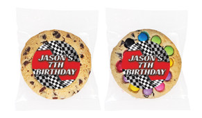 Racing Car Personalised Birthday Cookie - Australia's #1 Kids Party Supplies