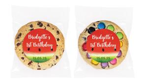 Watermelon Personalised Birthday Cookie - Australia's #1 Kids Party Supplies