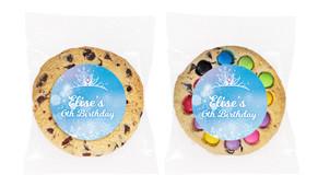 Ice Princess Personalised Birthday Cookie