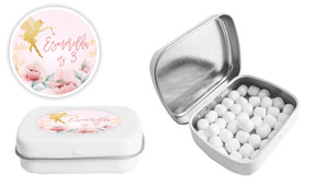 Little Fairy Birthday Personalised Mint Tin Favour - Australia's #1 Kids Party Supplies