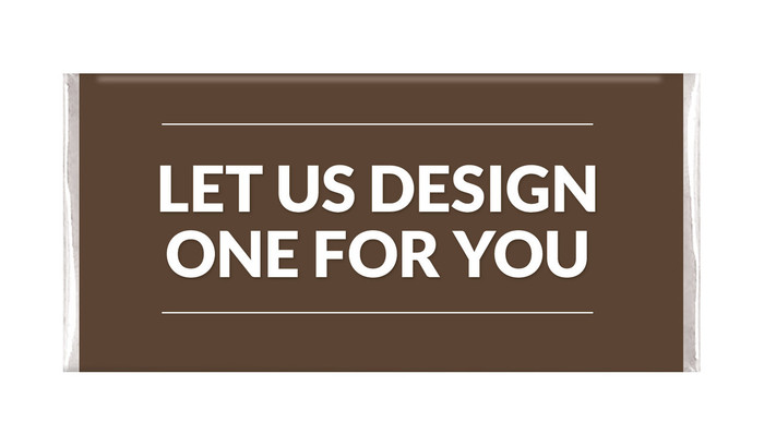 Let Us Design For You Personalised Chocolate Bars