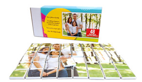 Personalised Mini Chocolate Jigsaw Puzzle (48-Piece)