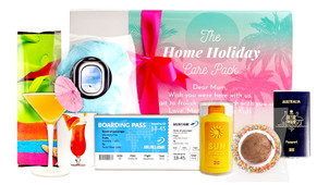 Holiday At Home Care Pack Personalised Hamper